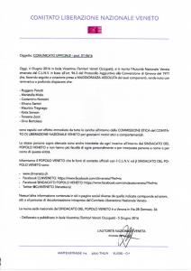 comunicato uffiale CLNV